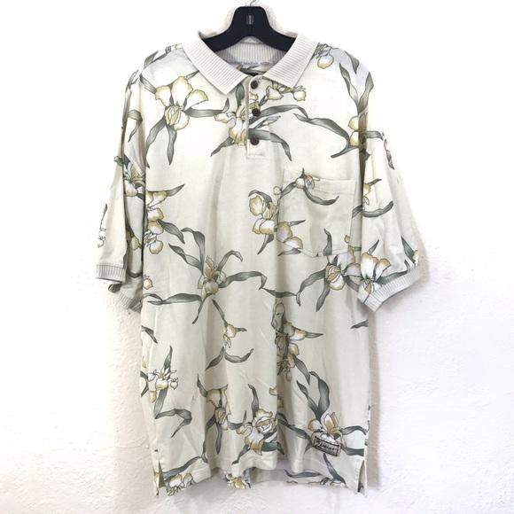 Tommy Bahama Other - Men's Tommy Bahama Hawaiian Polo Shirt XL